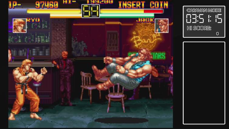 IHeartParamore playing ACA NEOGEO ART OF FIGHTING