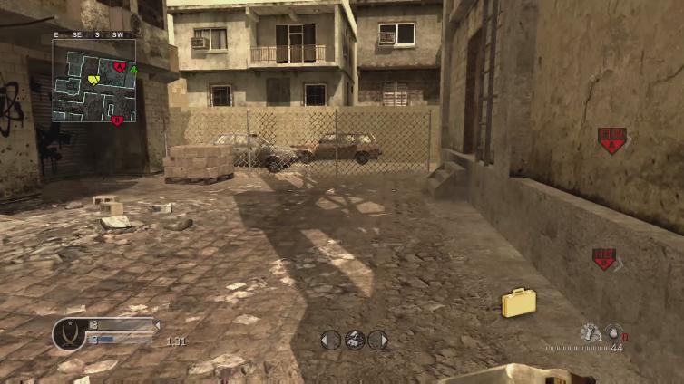 vaerm1na playing Call of Duty 4: Modern Warfare